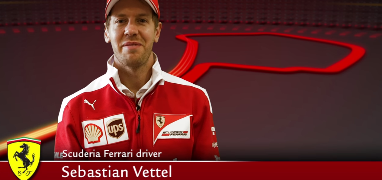 The Europe GP with Sebastian Vettel