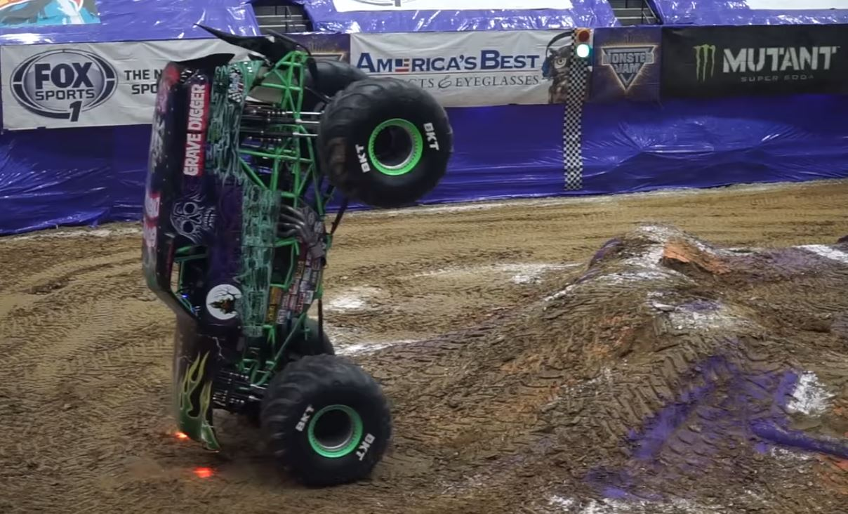 monster truck 2 wheel